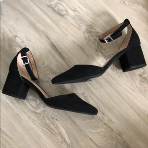Shoes - Call It Spring Faux Suede Heels